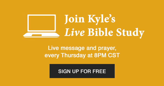 Join Kyle's Live Bible Study