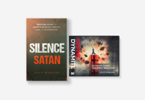 Silence Satan book and Divine Dynamite series