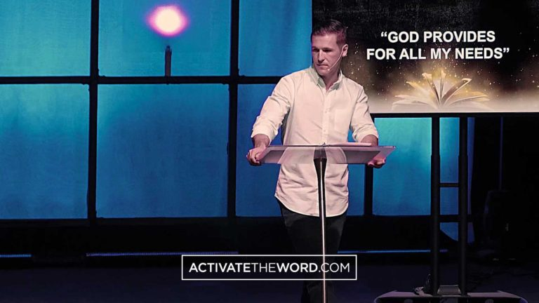 Kyle Winkler speaks on God's provision